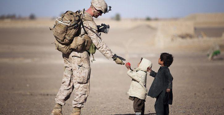 No, the U.S. hasn't declared that children of military servicemen born abroad aren't citizens