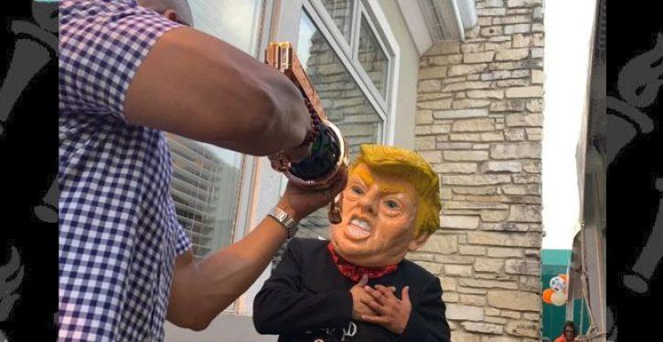Fundraiser for Democratic lawmaker simulates assassination attempt of Donald Trump