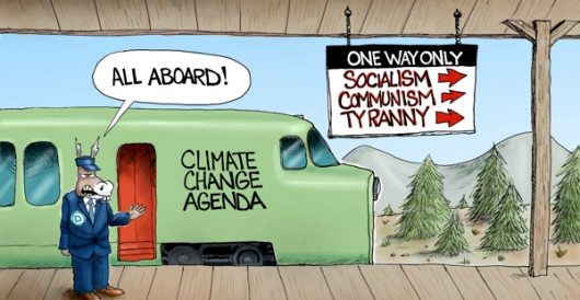 Cartoon of the Day: The wrong track by A. F. Branco