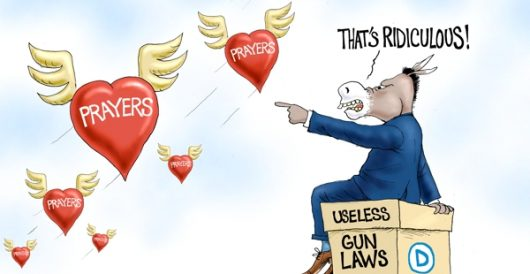 Cartoon of the Day: To God's ears by A. F. Branco