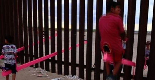 A dream realized: A seesaw connecting Mexico and the U.S. by Ben Bowles