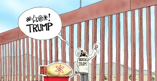 Cartoon of the Day: Don't Fence Me In by A. F. Branco