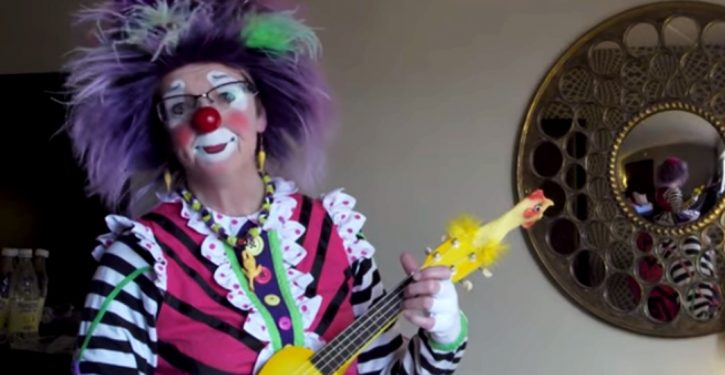 Man hires support clown to attend firing meeting with his employer