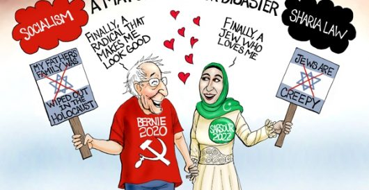 Cartoon bonus: Unholy alliance by A. F. Branco