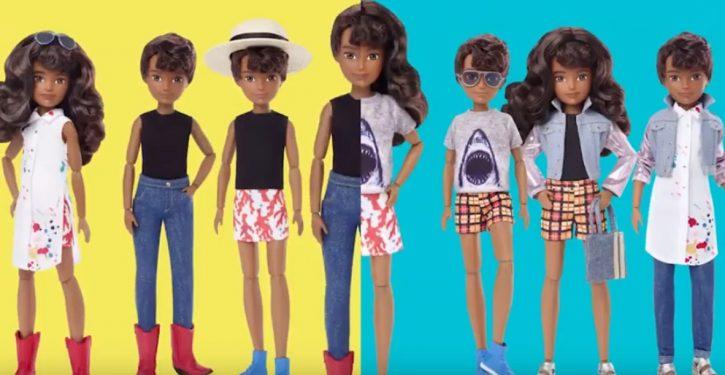 Mattel launches line of 'gender-inclusive' dolls