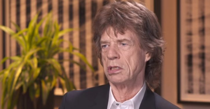 Curmudgeonly Jagger bewails 'incivility,' Trump, Johnson, enviro-reg rollbacks