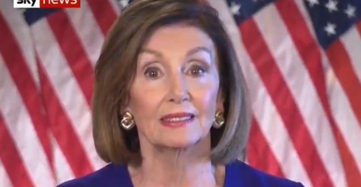 Pelosi hopes public forgets these facts as she rewrites history with impeachment inquiry
