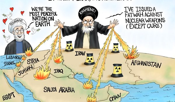 Cartoon bonus: Never Iran by A. F. Branco