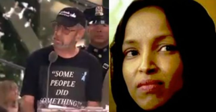 Son of 9/11 victim shreds Omar again for playing the victim card