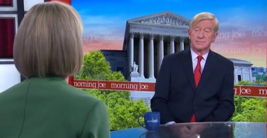 William Weld: Repeating – incorrectly – that 'the only penalty for treason is death,' to own Trump by LU Staff