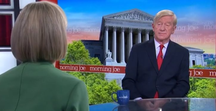 William Weld: Repeating – incorrectly – that 'the only penalty for treason is death,' to own Trump