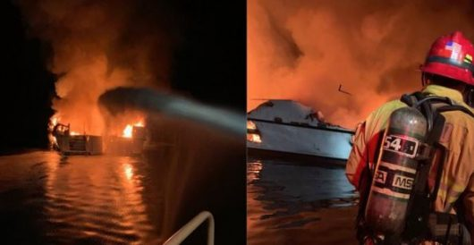 At least 25 people dead, 9 more missing after boat catches fire off California coast by Daily Caller News Foundation