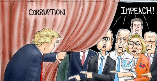 Cartoon of the Day: Wizards of sleaze by A. F. Branco