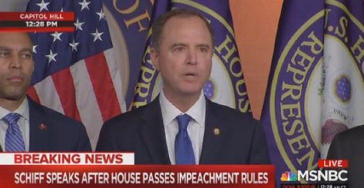 Adam Schiff: 'We take no joy' in trying to impeach Trump