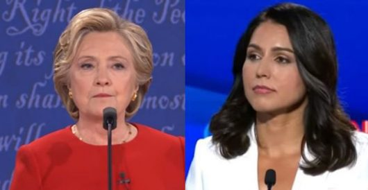Good times: Tulsi Gabbard declares war on Hillary and the Democratic establishment by Jeff Dunetz