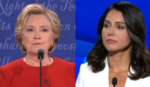 Good times: Tulsi Gabbard declares war on Hillary and the Democratic establishment by Jeff Dunetz