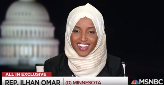 Ilhan Omar concerned that critics hate her because she's 'one beautiful package' by Rusty Weiss