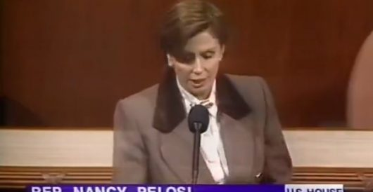 VIDEO: Pelosi on impeachment, then and now by LU Staff