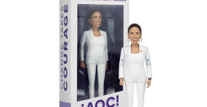 Not The Onion: Ocasio-Cortez action figure coming to a store near you