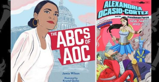 Ocasio-Cortez, the book … and the comic book by LU Staff