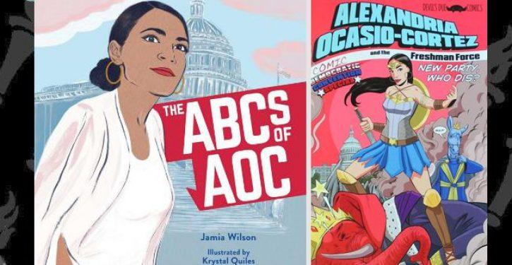 Ocasio-Cortez, the book … and the comic book