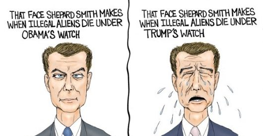 Cartoon of the Day: Shep has left the building by A. F. Branco