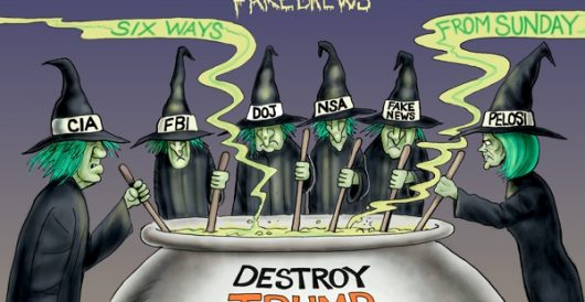 Cartoon of the Day: Witches hunting by A. F. Branco