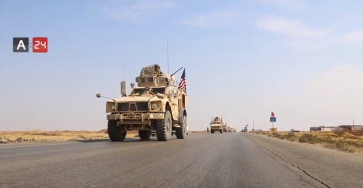 Strategic shift in U.S. Syria posture: Armor and rumors of armor