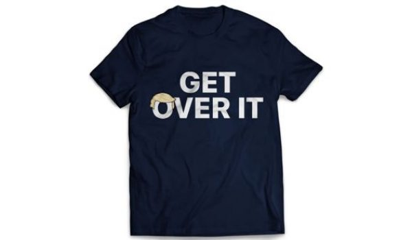 In wake of Mulvaney 'slip,' Trump campaign is brazenly selling 'Get Over It' t-shirts by LU Staff