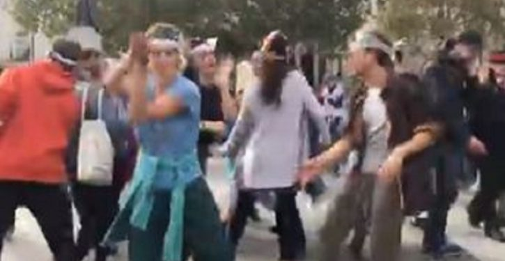 How leftist climate activists are saving the planet: through interpretive dance and yoga