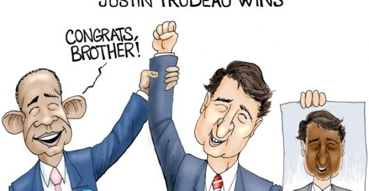 Cartoon of the Day: Oy Canada by A. F. Branco