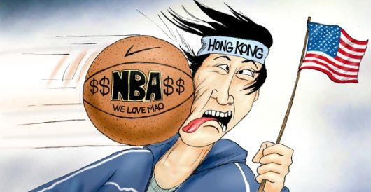 Cartoon of the Day: Beijing bounce by A. F. Branco