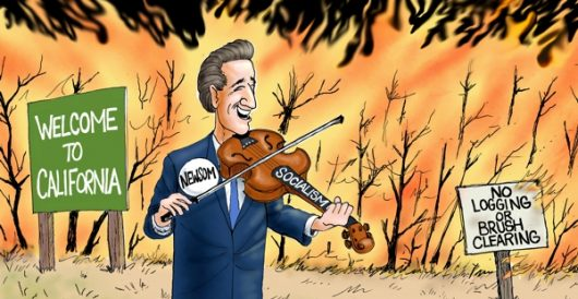 Cartoon of the Day: Feeling the burn by A. F. Branco