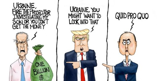 Cartoon of the Day: It's in the bag by A. F. Branco