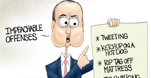 Cartoon of the Day: High crimes by A. F. Branco