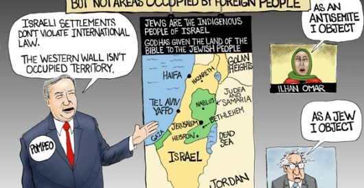 Cartoon of the Day: Bible land by A. F. Branco