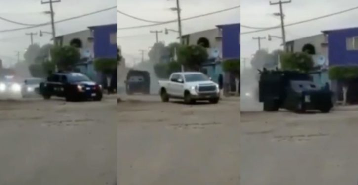 El Chapo cartel makes show of force with armored convoy in Guanajuato
