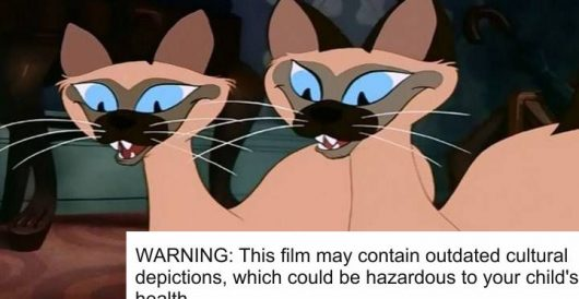 Disney adds PC warnings to its classic cartoons by Howard Portnoy