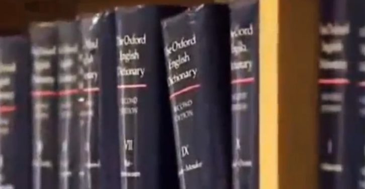 And the Oxford Dictionaries 'word of the year' is …
