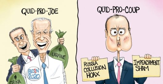 Cartoon of the Day: Quid pros by A. F. Branco