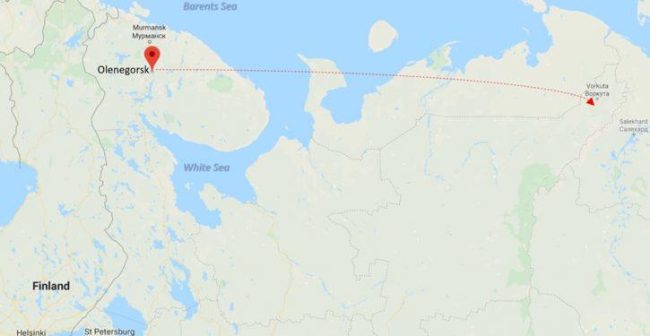 Russia tests hypersonic missile in far northwestern region