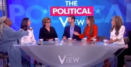 VIDEO: Whoopi's 'whoopsi' over impeachment mania by LU Staff