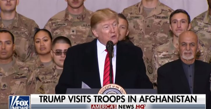 Points to ponder from Trump's surprise Thanksgiving visit to Afghanistan