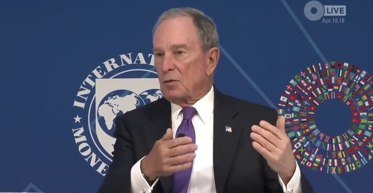 Flashback: Bloomberg explains why raising taxes on the poor is a 'good thing'