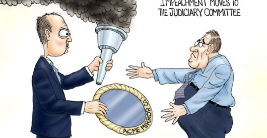 Cartoon of the Day: Passing of the hoax by A. F. Branco