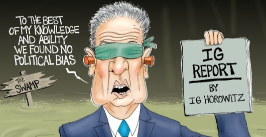 Cartoon of the Day: See no evil, hear no evil by A. F. Branco