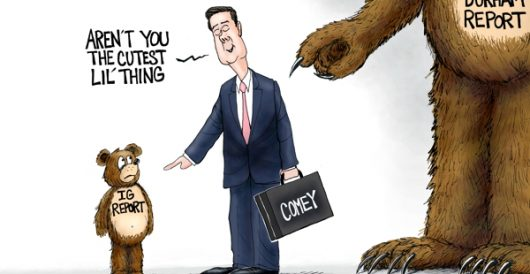 Cartoon of the Day: Bad News Bears by A. F. Branco