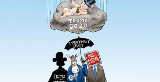 Cartoon of the Day: Hard Rock Covfefe by A. F. Branco