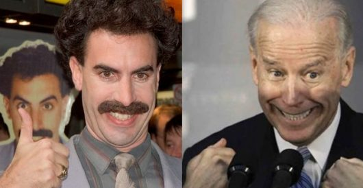 VIDEO: Is Joe Biden now channeling Borat? by Ben Bowles
