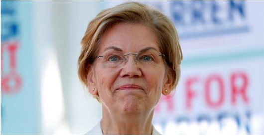 In trashing law enforcement, Warren forgets she was once a 'woman of color' by Howard Portnoy